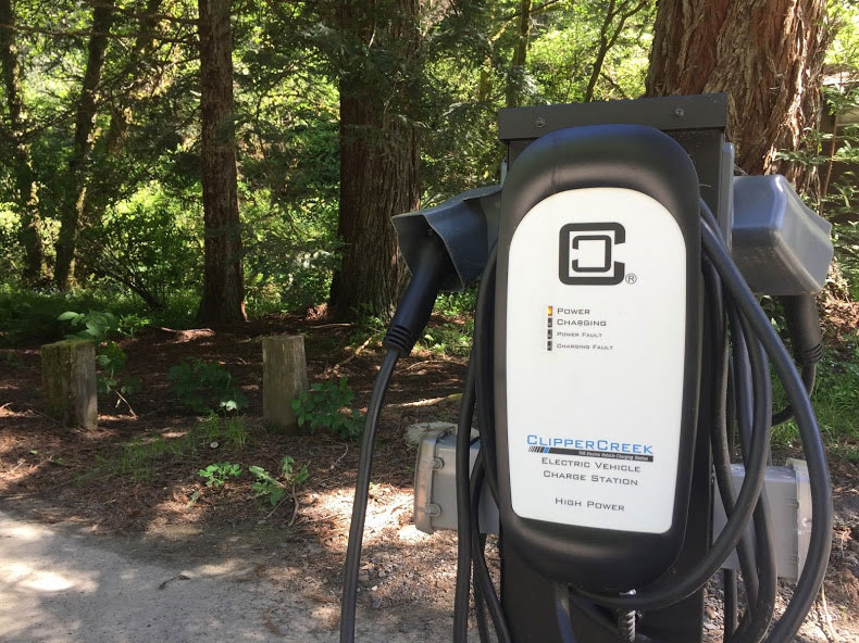 Electric Charger at Park